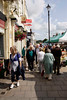People shopping at High Street Lymington September 2009