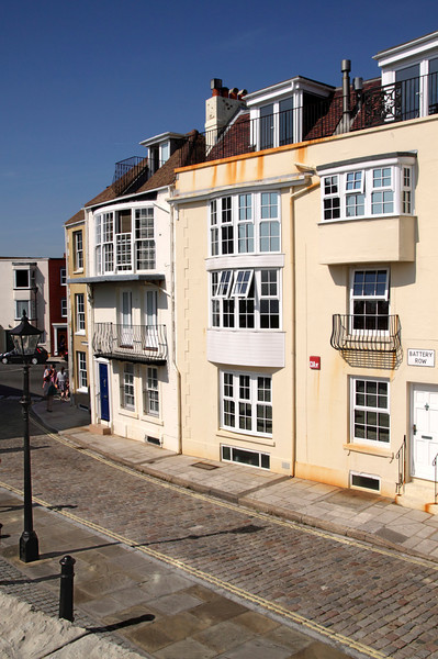 Terraced Houses Battery Row Old Portsmouth Hampshire