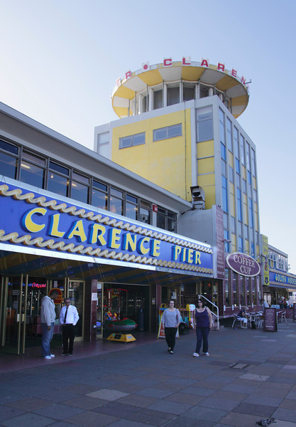 Clarence Pier at the seafront Southsea Portsmouth Hampshire