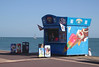 Ice Cream Kiosk Southsea Beach Portsmouth Hampshire