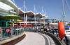 Cafes and restaurants Gunwharf Quays Portsmouth