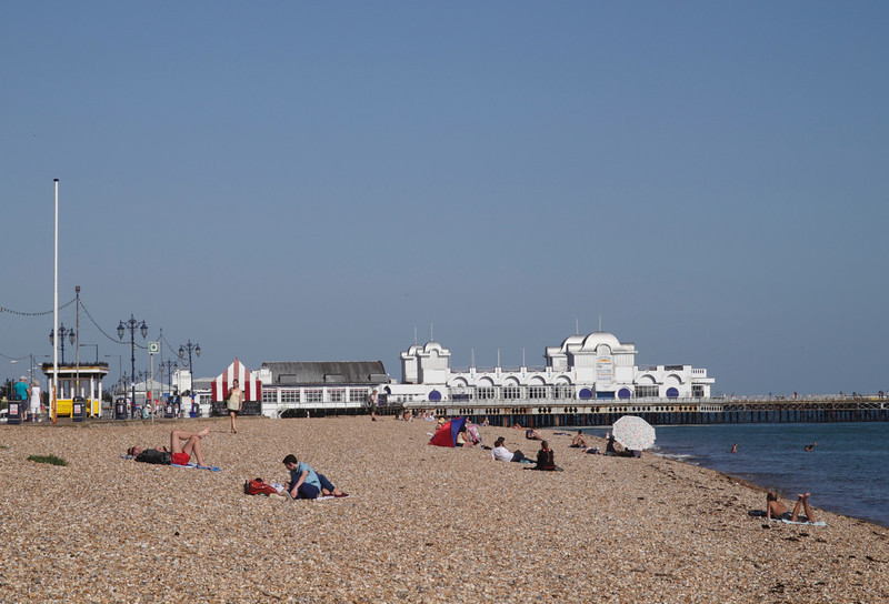 South Parade Pier Southsea Portsmouth Hampshire