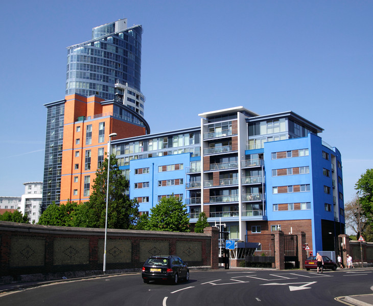 The Crescent apartments Gunwharf Quays Portsmouth