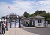 Entrance to Swanage Pier Dorset England