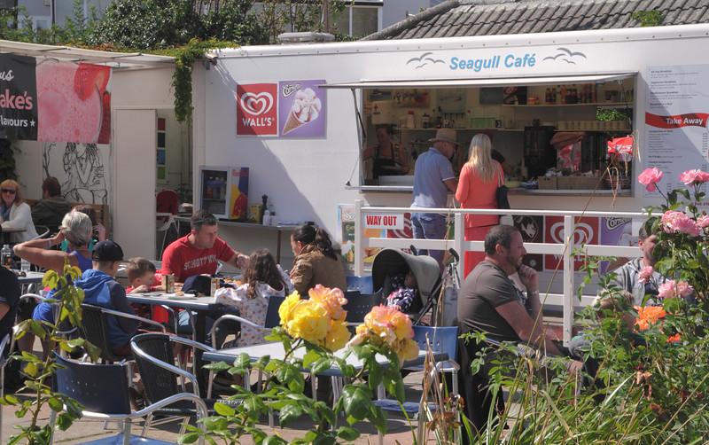 Seagull Cafe Swanage Dorset England
