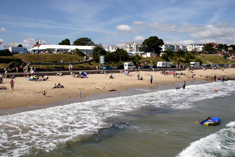 Swanage seafront Dorset