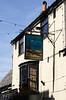 The Anchor Inn pub sign Swanage Dorset