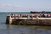 Jetty and pier at Swanage Dorset