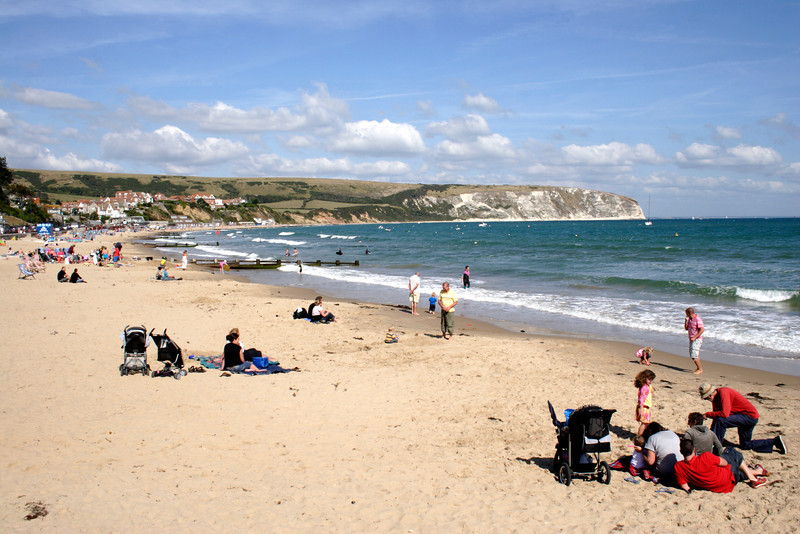 Beach at Swanage Dorset