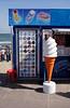 Ice cream kiosk at Swanage Dorset