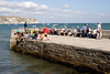 Jetty at Swanage Dorset