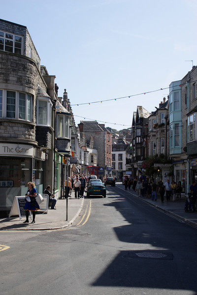 Street in Swanage Dorset