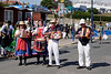 Morris Dancers band at Swanage Dorset