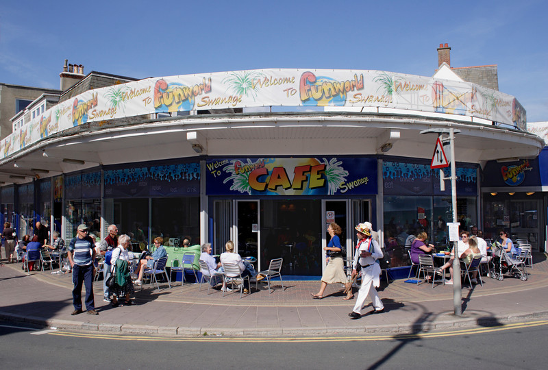 Funworld cafe Swanage Dorset