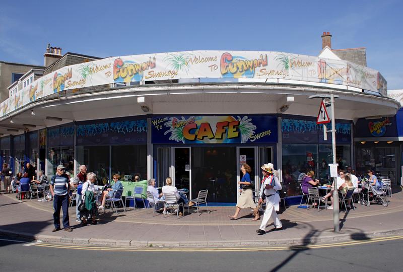 Funworld cafe Swanage Dorset