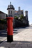 Post box at Swanage Dorset
