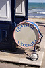 Drum at Swanage seaside Dorset