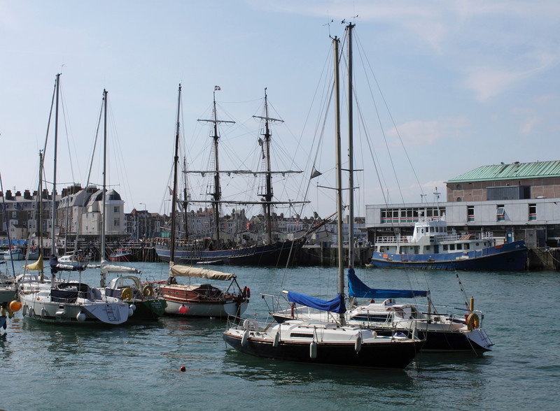 Weymouth Harbour Dorset summer 2010