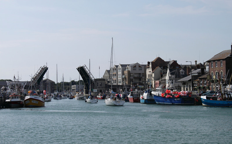 Weymouth Harbour and Bridge Dorset