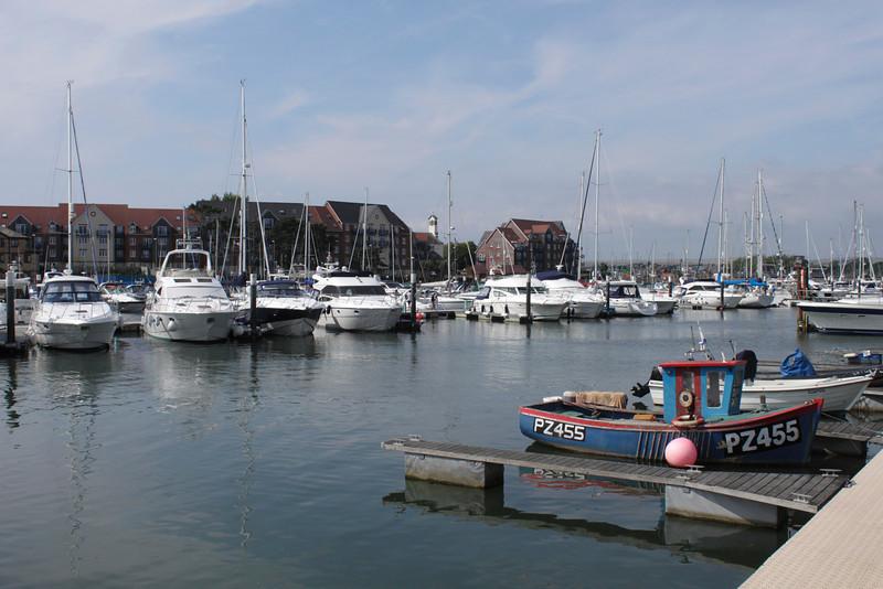 Marina at Weymouth Dorset