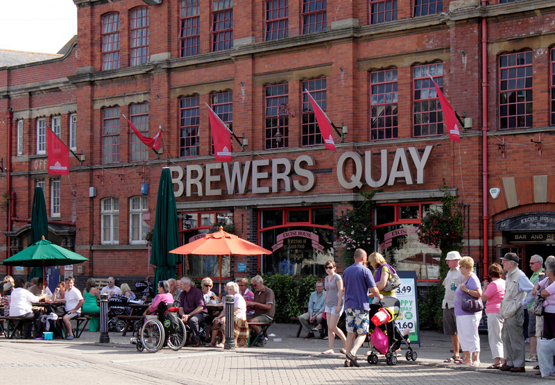 Brewers Quay Edwardian 1904 brewery and Cafe Weymouth