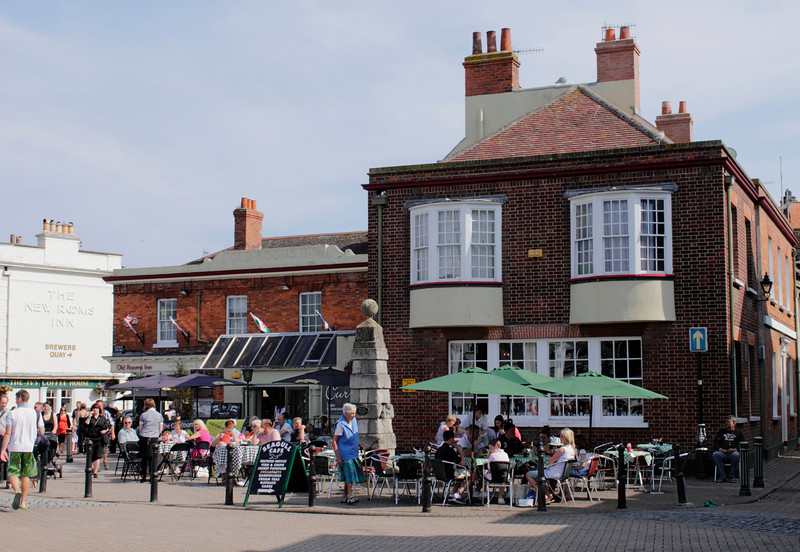 Seagul Cafe at Weymouth Harbour Dorset summer 2010