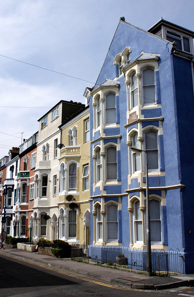 Terraced houses in Lennox Street Weymouth