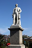 Statue of Sir Henry Edwards MP erected 1885 Weymouth Dorset