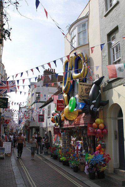 St Alban Street Weymouth Dorset August 2010