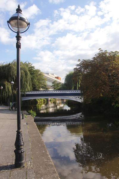 Bridge over River Wey Guildford Surrey