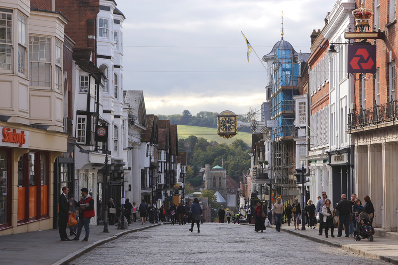 High Street Guildford Surrey
