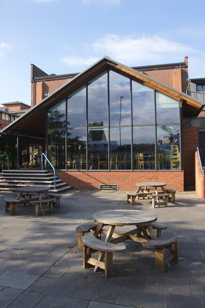 Riverside cafe by The Electric Theatre Guildford Surrey