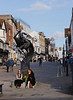 The Surrey Scholar Statue and Guildford High Street
