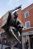 The Surrey Scholar Statue High Street Guildford Surrey