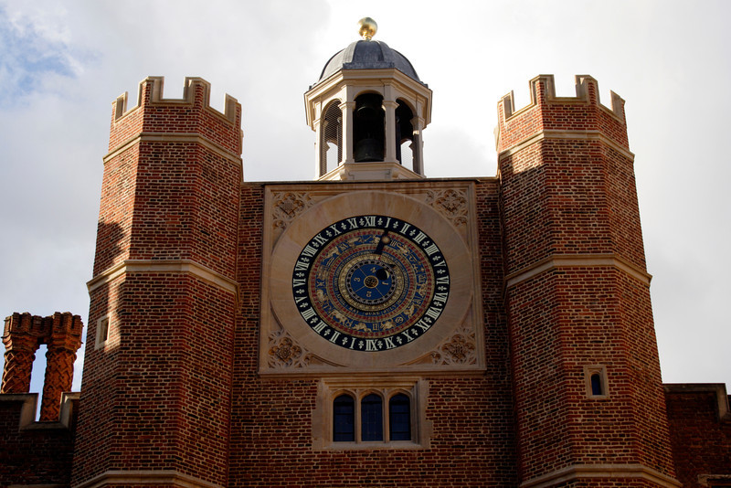 Clock Court at Hampton Court Palace Surrey