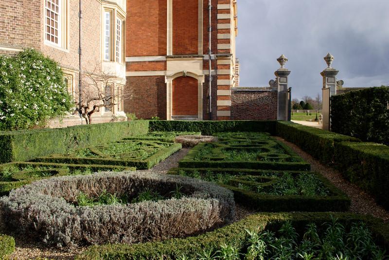 The Knot Garden at Hampton Court Palace Surrey