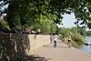 River bank at Richmond Upon Thames Surrey