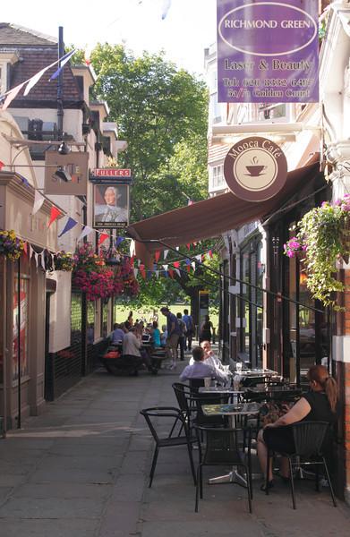 Golden Court alley in Richmond Upon Thames Surrey