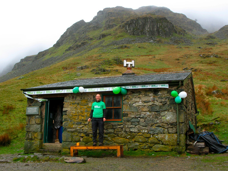 Jon Tombs at Outward Bound's Ruthwaite Lodge
