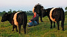 Ceris hanging out with the Belties