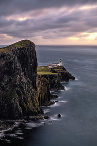 The lighthouse of Neist point