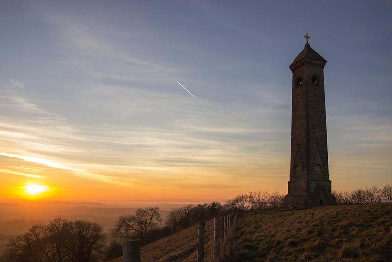 Tyndale Monument Sunset