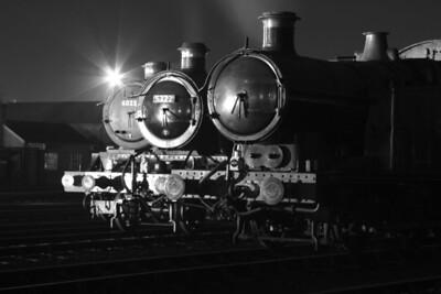 Class King 4-6-0 No 6023 King Edward 11 Class 4300 2-6-0 No 5322 Class 5600 0-6-2T No 6697
