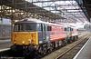 87010 'King Arthur' awaits its next duty at Crewe in November 2003.