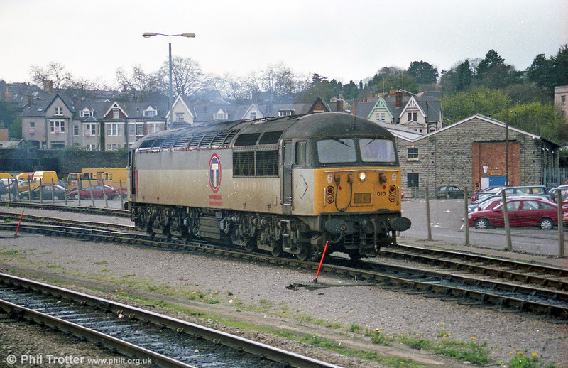 56010 at Newport on 26th March 1998.