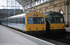 Class 101 Metro Cammell dmu 101657 waits at Manchester Piccadilly in 2000.