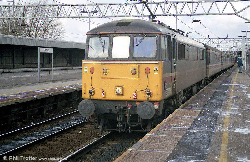 86224 once named 'Caledonian' at Stafford on 2nd March 2001.