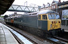 Heritage liveried 56006 in the company of 56102 at Newport in 2003.