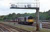 58025 at Stoke Gifford Yard, July 2002.