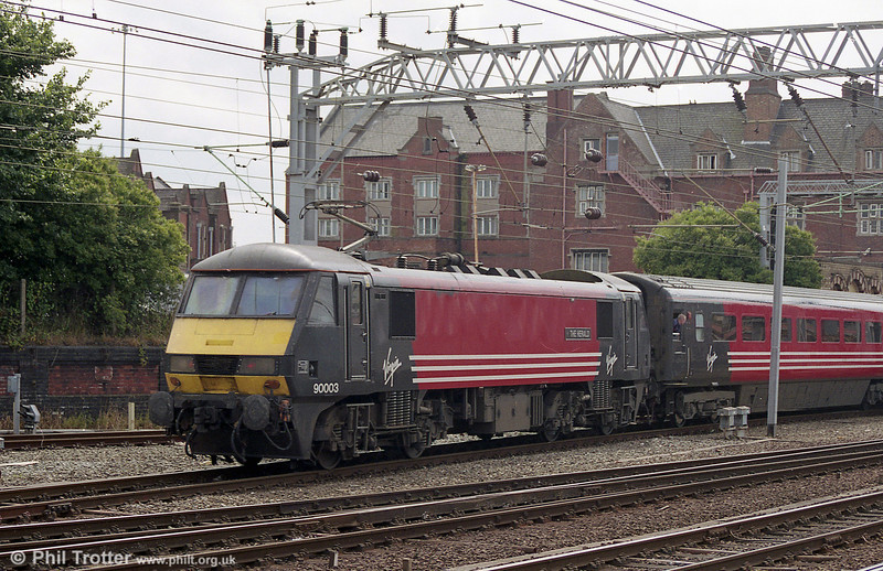 90003 'The Herald' seen at Crewe during August 2003.